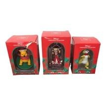 Set of 3 Disney Winnie the Pooh Christmas Ornaments Pooh Rabbit Tigger  - $49.49