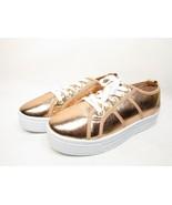 Qupid Maniac-17 Distressed Metallic Flatform Creeper Womens Sneakers  ... - €12,78 EUR