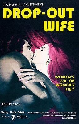 Primary image for Drop-Out Wife - 1972 - Movie Poster