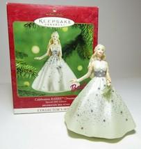 Celebration Barbie 2001 Hallmark Keepsake Ornament Christmas Collectors ... - $10.39