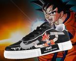 Goku Low Top (Black) Dragon Ball Z anime shoes  - £41.30 GBP - £47.75 GBP