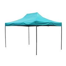 10 Ft X 10 Ft American Phoenix Teal Canopy Car Shelter Wedding EasyPop U... - $94.99