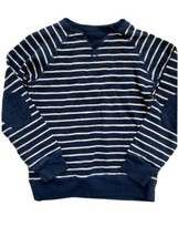 Gymboree Navy Striped Sweater Sweatshirt Elbow Patch Boys 7 8 Nautical shirt - $8.90