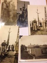 vintage fisherman photographs 1930's Florida USA - $12.19