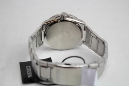 Citizen Men's Eco-drive AP1190-88A Silver Stainless-Steel Watch NWT image 2