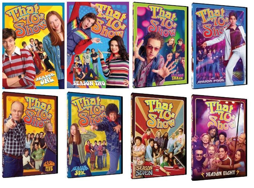 That 70's Show The Complete Series DVD Box Set TV Comedy Show Seasons 70s