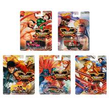 Hot Wheels Capcom Street Fighter Set of 5 DLB45-956S