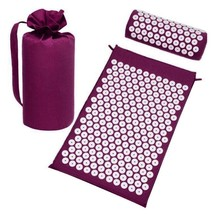 Acupuncture Mat Massage Yoga Mats Fitness Massage Cushion Body Pain Acup... - $32.43