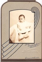Barbara Jean Graham Cabinet Photo of Baby - Bellaire, Ohio - $17.50
