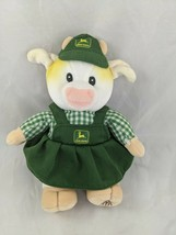 "Enesco John Deere Cow Plush 9"" 1999 Mary Moos Stuffed Animal Toy - $9.95"