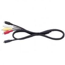 AV cable cord plug = Sony DCR SX45 HC32 SX65 DVD105 HandyCAM camcorder camera - $19.75