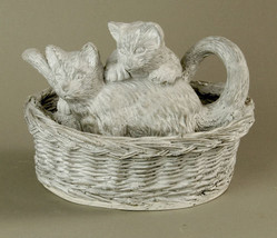 Adorable Kittens at Play Cat Statue Sculpture 1... - $59.95