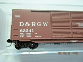 Micro-Trains Stock # 18200162 Denver & Rio Grande Western 50' Boxcar W/Load (N) image 2