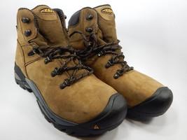 Keen Cleveland Steel Toe Men's Work Boots Shoes Size US 10.5 M (D) EU 44 Brown