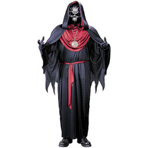 EMPEROR OF EVIL Grim Reaper Costume Black Robe Mask Accessories CHILD SM... - $19.79