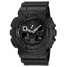 G-SHOCK GA100-1A1 Black Military Series Watch Casio Mens New Free Shipping - $108.90