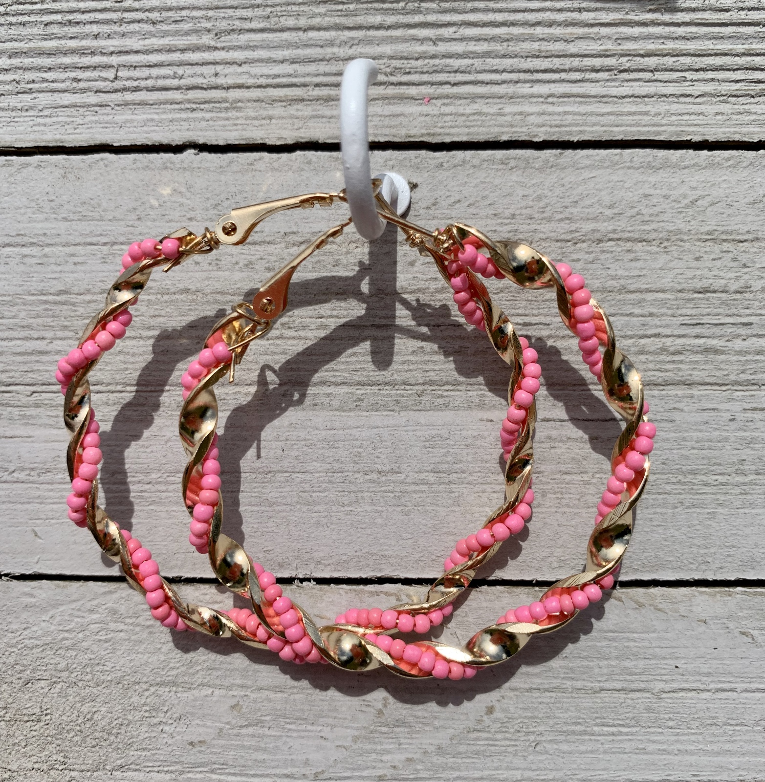 Hoop Earrings- multiple colors available!!