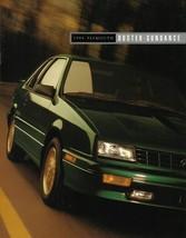 1994 Plymouth SUNDANCE DUSTER sales brochure catalog US 94 - $6.00