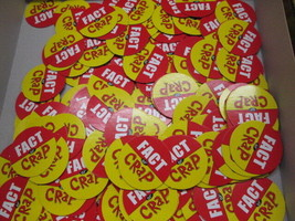 Imagination Fact Or Crap Board Game Replacement Tokens - $4.90