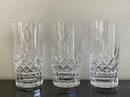 Waterford Lismore 12 OZ Highball Glasses Set of 3 - $125.00