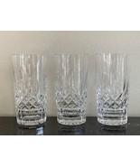 Waterford Lismore 12 OZ Highball Glasses Set of 3 - $125.00