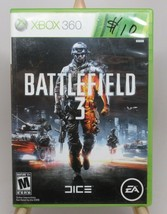 Battlefield 3 (Microsoft Xbox 360, 2011) Battlefield 3 XBOX 360 Video Game EA  - $9.88