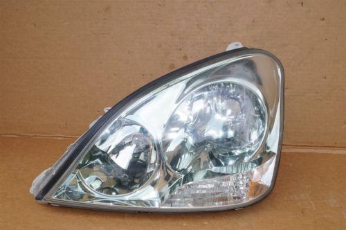 01-03 Lexus LS430 HID Xenon Headlight Head Light Driver Left LH *POLISHED*