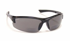 New Coyote BP-7 Polarized BIFOCAL Reader Sunglasses 1.50 Black - $62.00