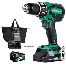 Metabo HPT 18V Cordless Hammer Drill | Includes Two Batteries | 1-36V/18... - $258.69