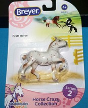Breyer     Stablemate   DRAFT HORSE     Horse Crazy  NIP  Blister Package - $12.99