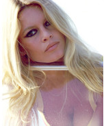 Brigitte Bardot Striking Late 60's Color 8x10 Photo (20x25 cm approx) - $9.75