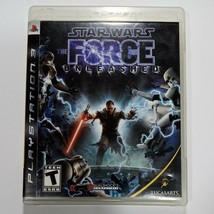 Star Wars The Force Unleashed Playstation 3 Complete - $18.83