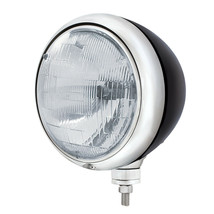 United Pacific 32650 Black Guide 682-C Style Headlight H6024 Bulb - $151.39