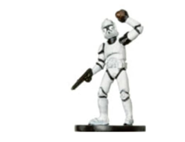 CLONE TROOPER GRENADIER 9 Wizards of the Coast STAR WARS Miniature - $1.29