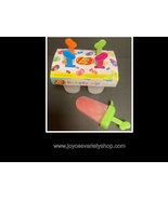 Jelly Belly Lickety Sip Homemade Ice Pops Freeze Mold 4 Set Use Your Fav... - $8.99