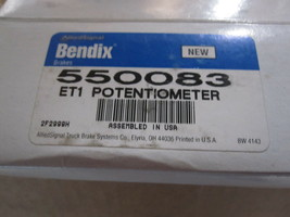Bendix ET1 550083 Potentiometer New image 2