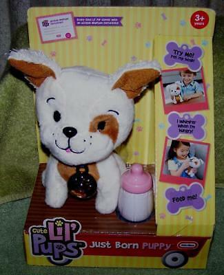 "Little Tikes Cute Lil' Pups Just Born Puppy Mutt 7""H New - $7.80"