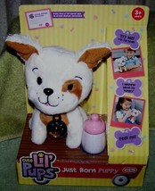 "Little Tikes Cute Lil' Pups Just Born Puppy Mutt 7""H New - $7.80"