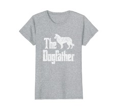 The Dogfather t-shirt Border Collie silhouette funny dog - $19.99+