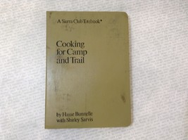 Cooking for Camp and Trail Leatherback Book