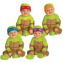 Child Tmnt Teenage Mutant Ninja Turtles Leo Baby Infant Toddler Costume ... - $19.59