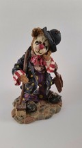 "Boyds Bears ""Emmit Kleansweep"" #227739 Clown, broom for elephant, NIB 2000 - $41.04"