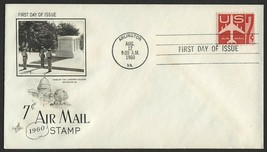 #C60 7c Jet Airliner, Art Craft-Addressed FDC **ANY 4=FREE SHIPPING** - $1.00