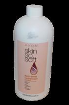 AVON SKIN SO SOFT Cream Oil Lotion Supreme + Macademia New 2015 1 liter 33.8oz - $28.98