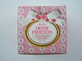 Avon Decanter Dear Friends Field Flowers Cologne 4 Fl Oz Original Box Vi... - $6.82