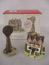 Liberty Falls Aunt Alice Quilt Shop Farmer Wilson Windmill with Box AH126 - $12.86