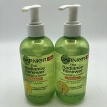 (2) Garnier Radiance Renewer Cleansing Gelee for Dull Skin Face Wash 8 fl.oz. - $21.76