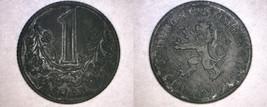 1943 Bohemia & Moravia 1 Koruna World Coin - $14.99