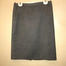 Anne Klein Women's Medium Gray Pencil Midi Skirt Size 4. - $13.48