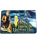 HOUSE ON HAUNTED HILL MOVIE POSTER DOOR MAT RUG CARPET MADE IN USA  - $31.58